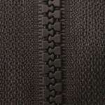 Dark Grey D306 - Open Ended Chunky Zip-Splashings of Fabric-Splashings of Fabric