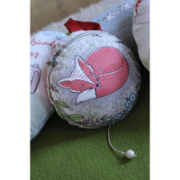 Easter Egg - Panel - Organic Jersey-Lillestoff-Splashings of Fabric
