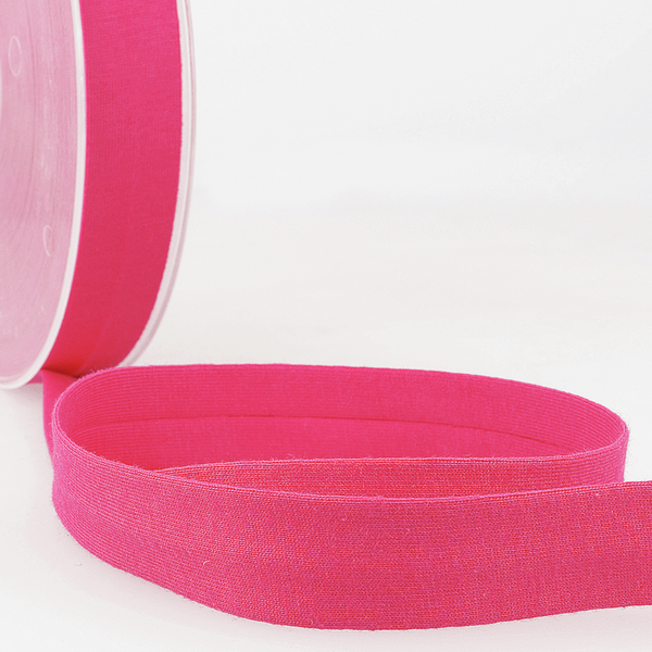 Fuschia - 20mm - Stretch Bias Binding-Stephanoise-Splashings of Fabric