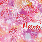 1m Hawai - Modal-Lillestoff-Splashings of Fabric