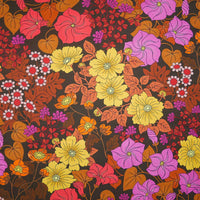 Felicity - Brown - Organic Jersey-Vintage In My Heart-Splashings of Fabric