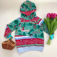 Little Red Garden - Jersey-Custom-Splashings of Fabric