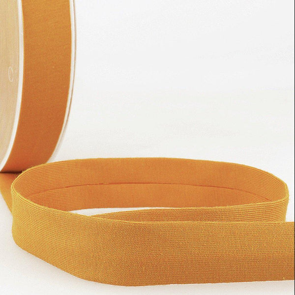 Mustard - 20mm - Stretch Bias Binding-Stephanoise-Splashings of Fabric