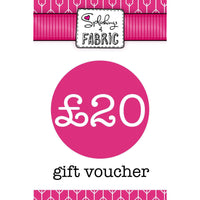 £20 Gift Voucher-Splashings of Fabric-Splashings of Fabric
