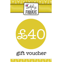 £40 Gift Voucher-Splashings of Fabric-Splashings of Fabric