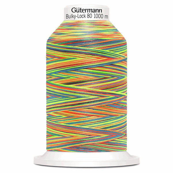 Rainbow - Gutermann Creativ Bulky Lock 80 Overlocking Thread 1000m-GUTTERMAN-Splashings of Fabric