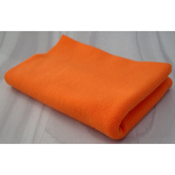 Tubular - Smooth Rib - Orange-Splashings of Fabric-Splashings of Fabric