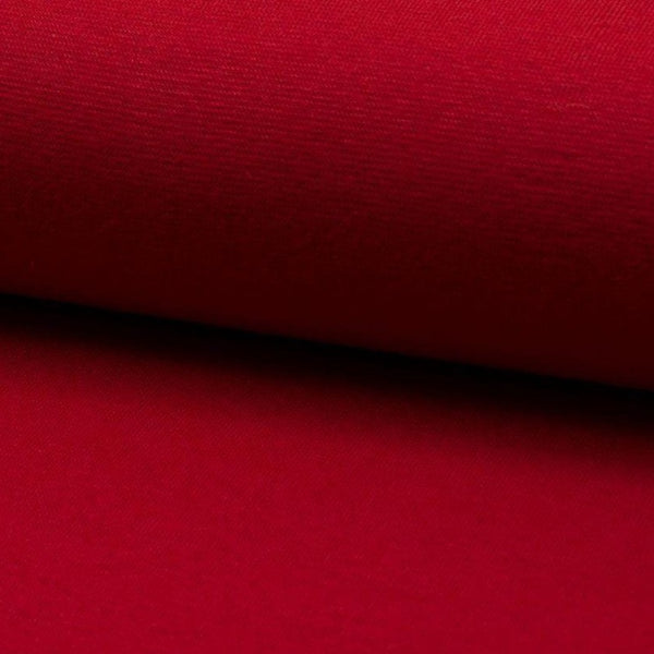 Tubular - Smooth Rib - Red-Splashings of Fabric-Splashings of Fabric