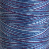 Variegated Blue Lagoon - Overlocker Thread-Madeira-Splashings of Fabric