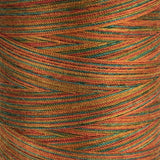 Variegated Sunset - Overlocker Thread-Madeira-Splashings of Fabric