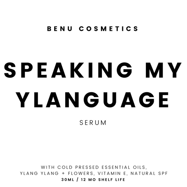 Speaking My Ylanguage Serum