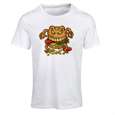Curse Of The Burger Cartoon T-Shirt