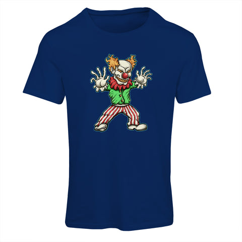 Evil Clown Cartoon T-Shirt