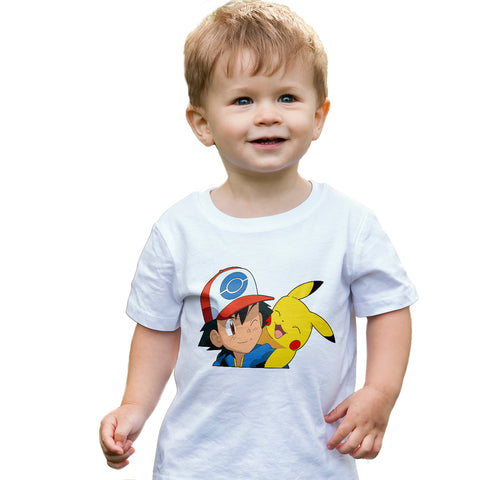 Ash & Pikachu Pokemon T-Shirt