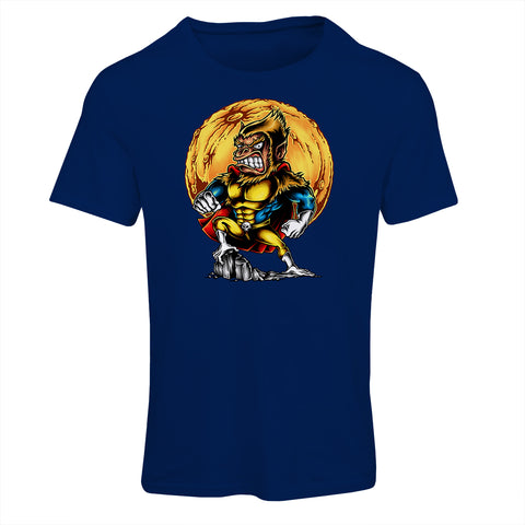 Super Monkey Cartoon T-Shirt