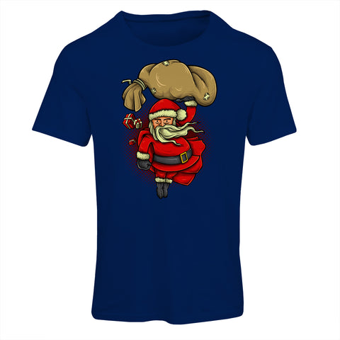 Super Santa Cartoon T-Shirt