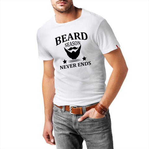 Beard Season Never Ends T-Shirt