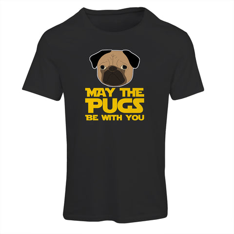 May The Pug Be With You T-Shirt