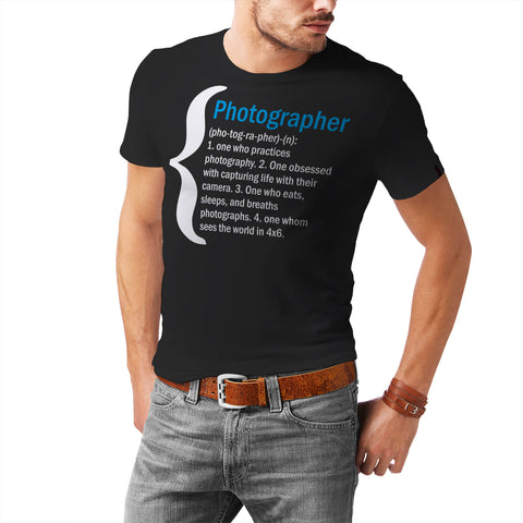 Definition Of Photographer T-Shirt