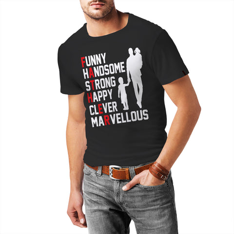 Funny, Handsome, Dad T-Shirt