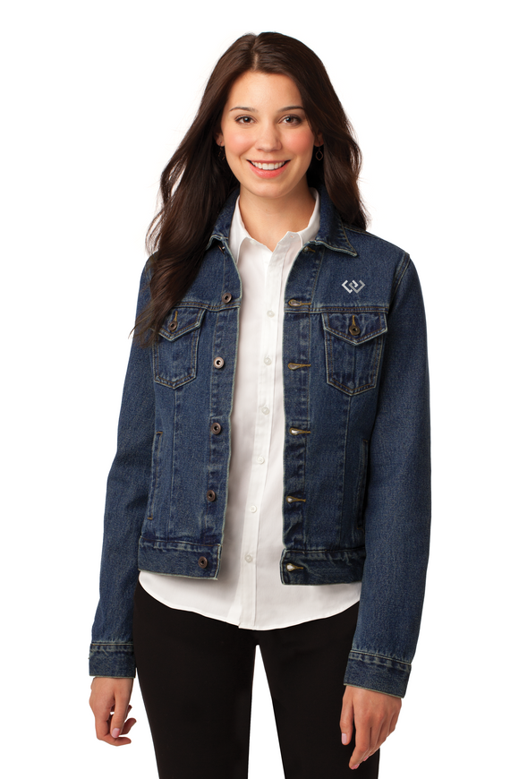 Port Authority® Ladies Denim Jacket