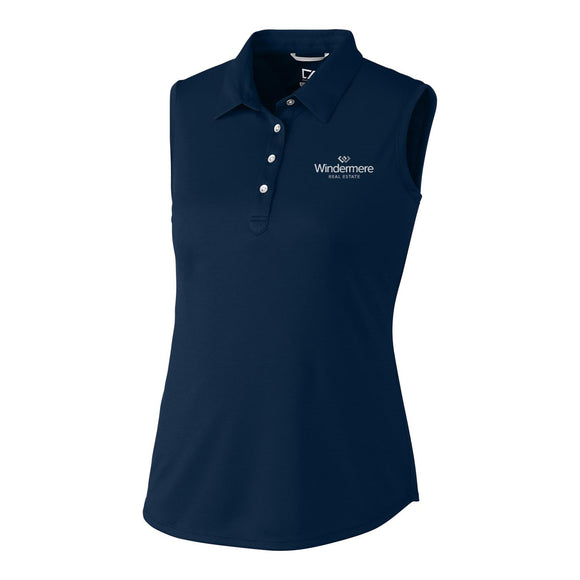 Ladies Cutter & Buck Sleeveless Polo