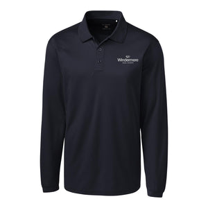 CLIQUE Men's Long Sleeve Pique Polo