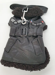 Top Dog Flight Coat in Black