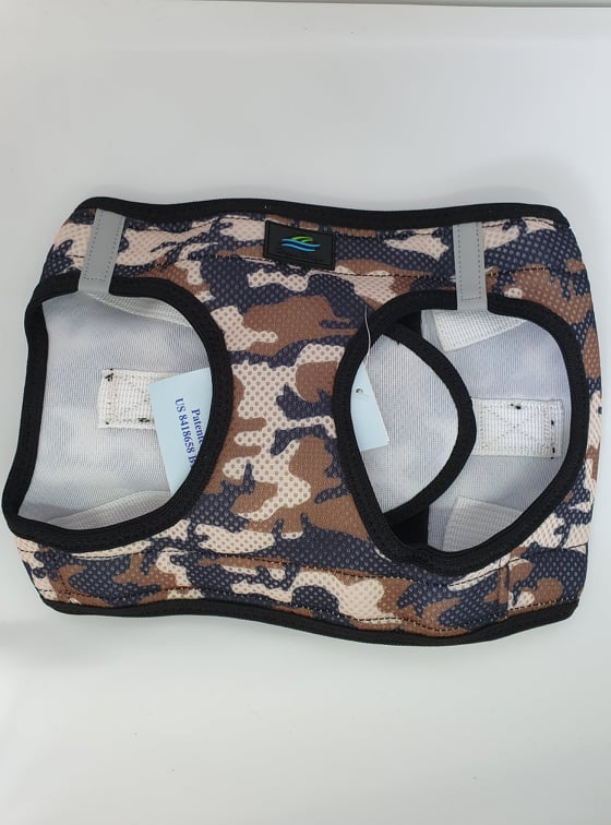 American River Choke-Free Harness in Camouflage
