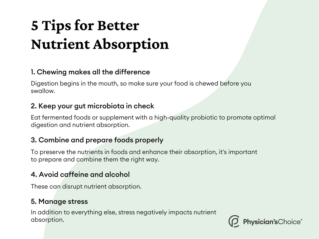 5 Tips for Nutrient Absorption