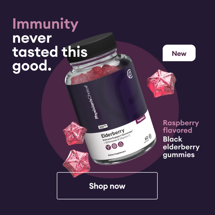 Immunity never tasted this good. New Raspberry flavored black elderberry gummies. Shop now!