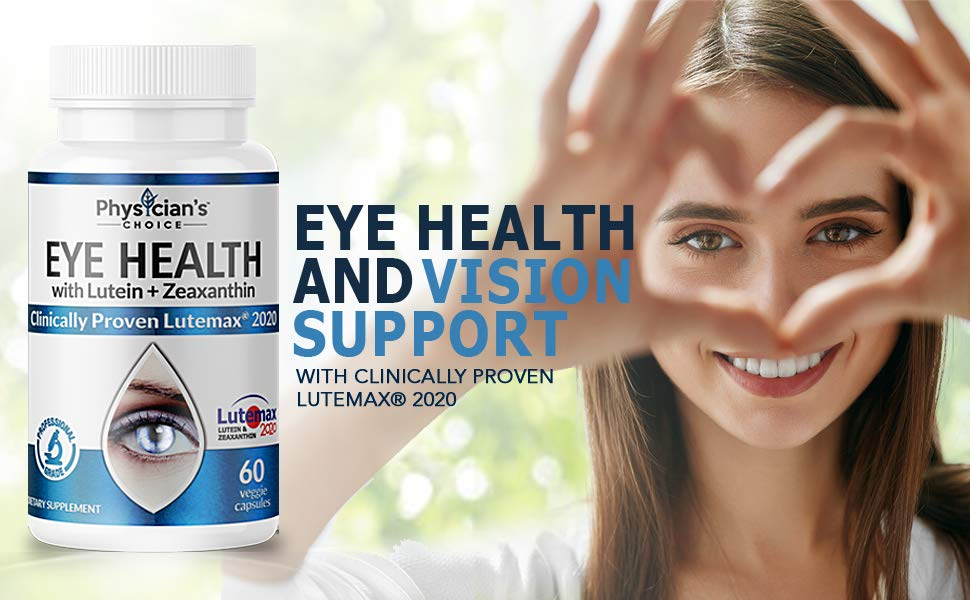 Eye Vitamins for Dry Eye and Wet Eye LuteMax 2020