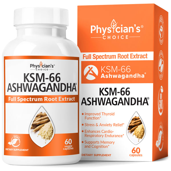 Physician's Choice KSM-66 Ashwagandha