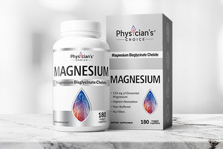 Physician's Choice Magnesium Bisglycinate Chelate, boost energy, relieve fatigue