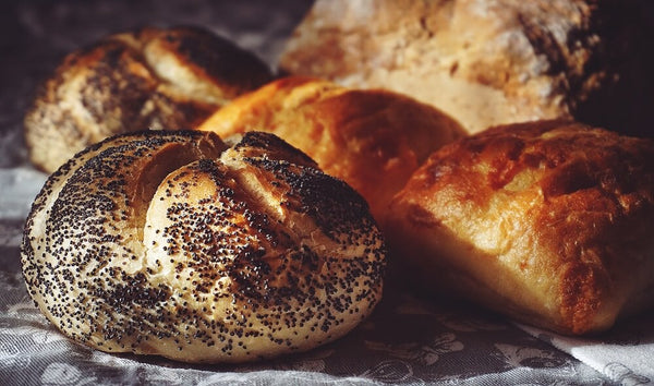 Poppy seed breads