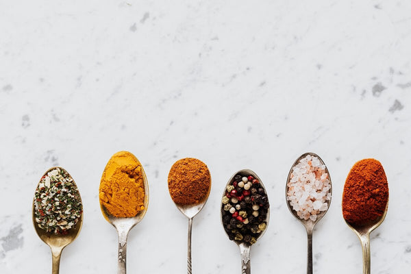 Different spices and seasonings to include in a plant-based diet