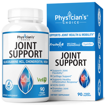 Physician's Choice Joint Support with Glucosamine HCL, Chondroitin, MSM