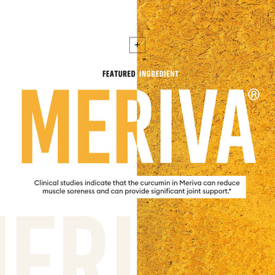 Turmeric Curcumin featuring patented Meriva formula