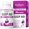 Physician's Choice Natural Sleep Aid with Suntheanine 60-count bottle