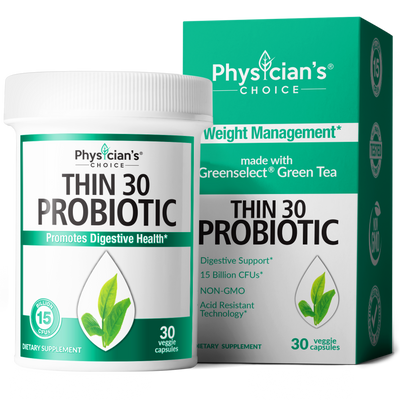 Physician's Choice Thin 30 Probiotic with Greenselect Green Tea 30-count