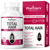 Physician's Choice Total Hair with Cynatine HNS 60-count bottle