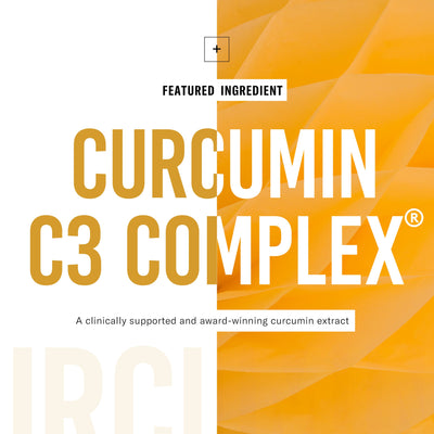 Curcumin C3 Complex is a clinically supported and award-winning curcumin extract
