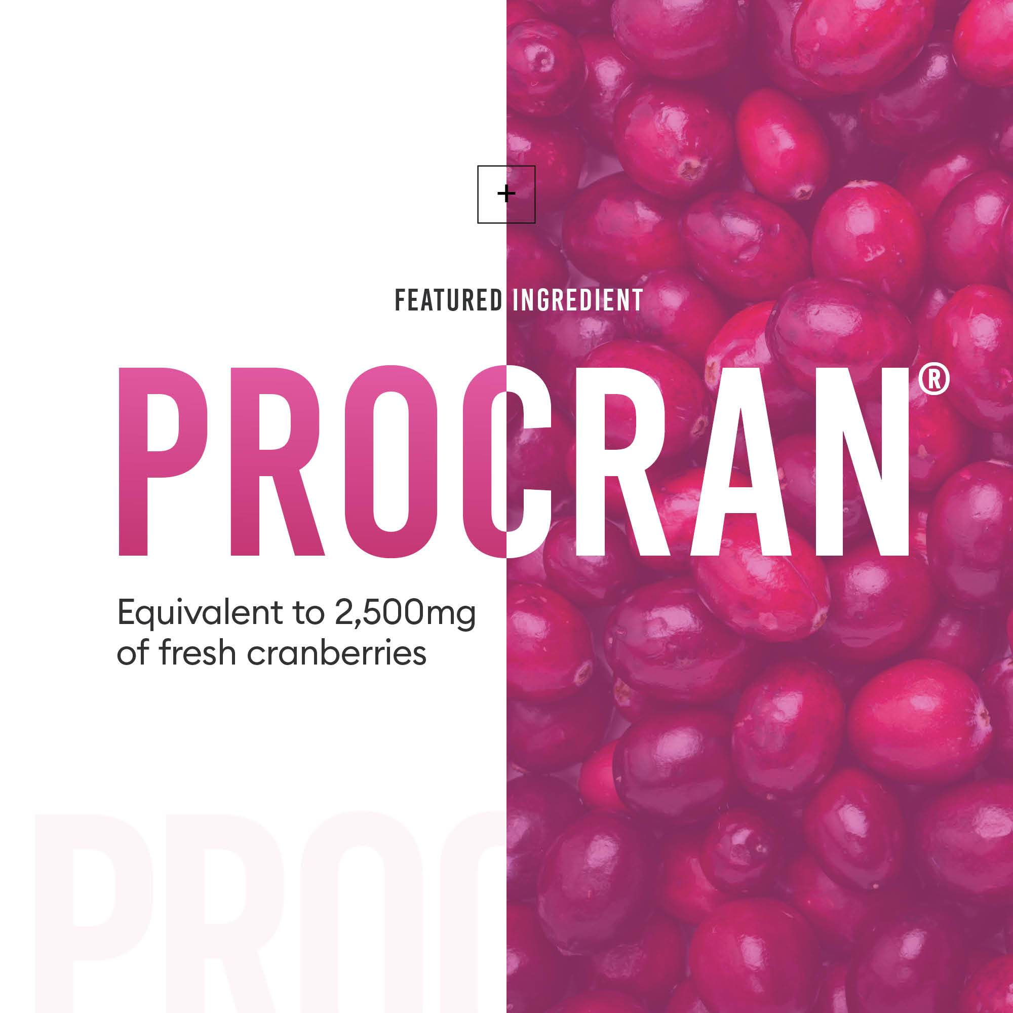 Probiotics for women featuring cranberry extract for urinary health