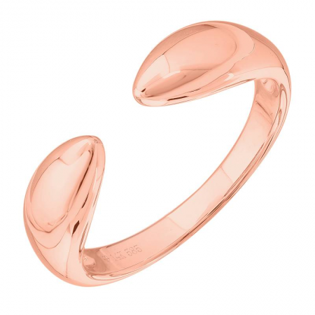 Solid Gold Thick Claw Ring