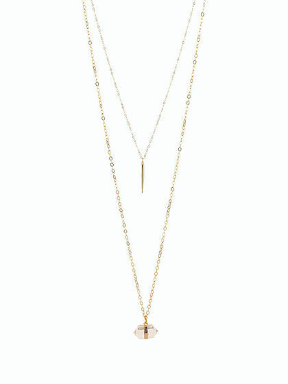 Ilana Double Necklace