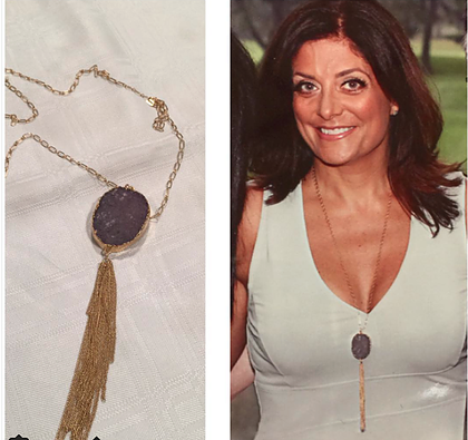 Druzy Tassle Necklace - rockyourvnd