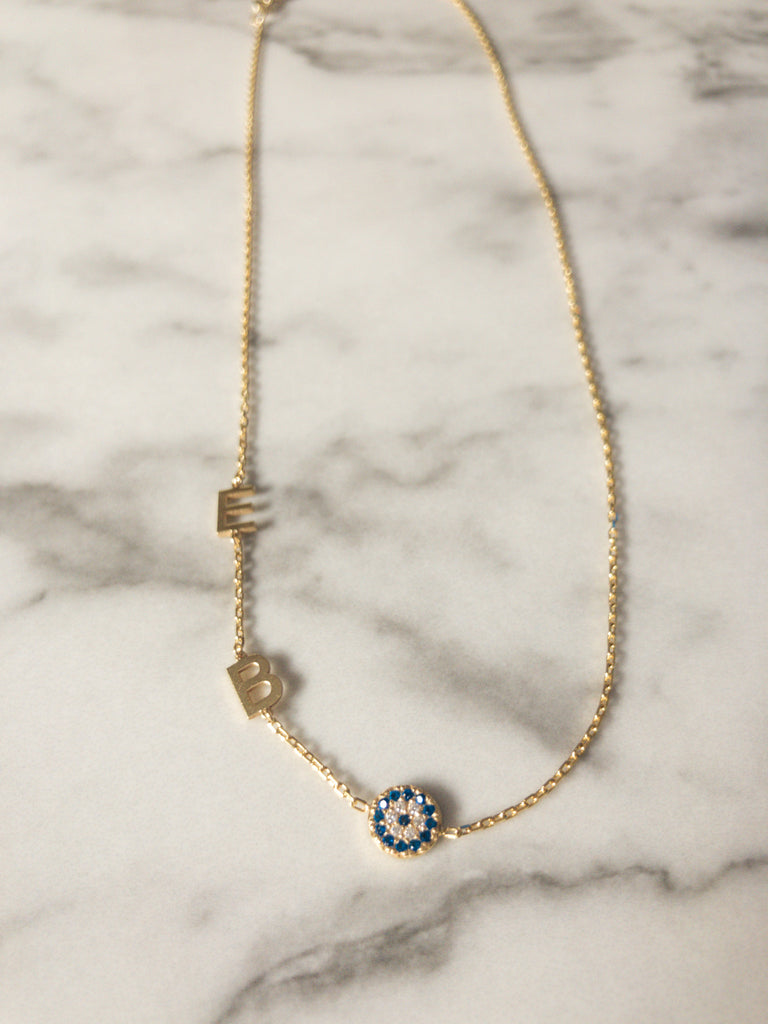 Multi Initial Necklace - rockyourvnd