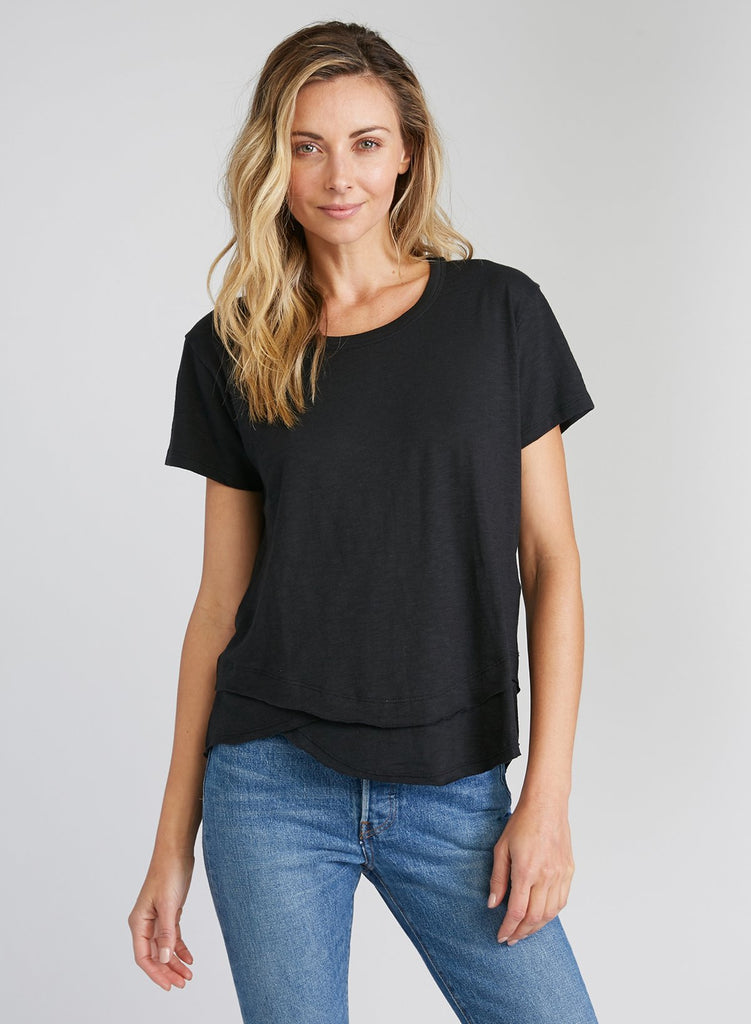 Ava - Mock Layer T-Shirt