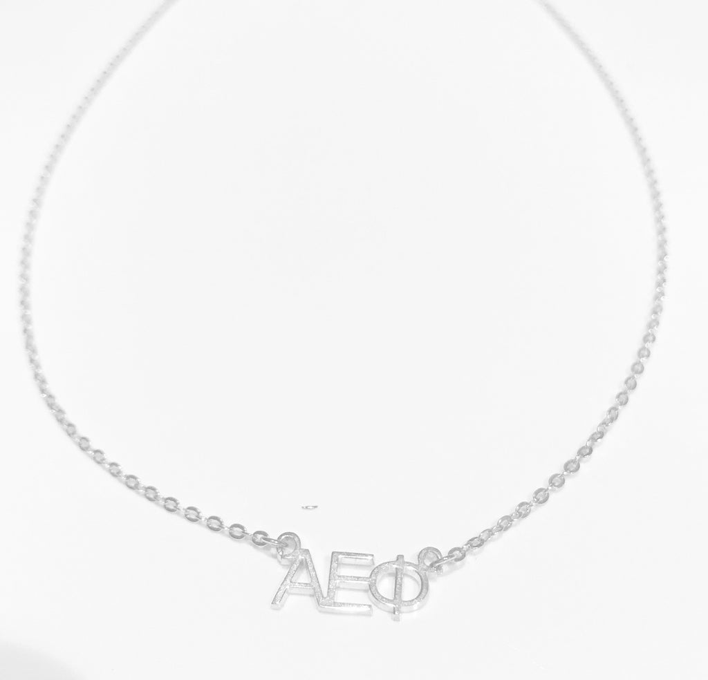 Sorority Letter Necklace - rockyourvnd