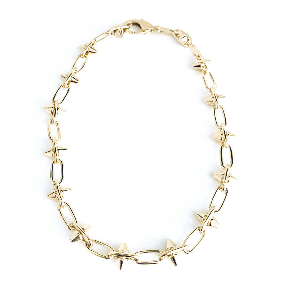 Dusty Spike Necklace - rockyourvnd